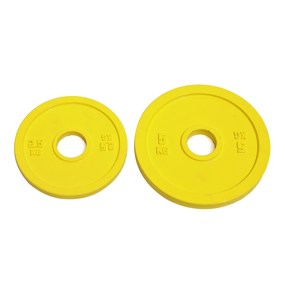 Calibrated Cast Iron Weight Plate